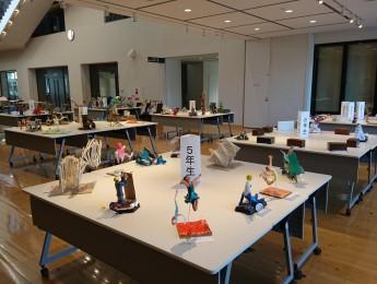第59回佐賀県学童美術展 小城多久支部「立体部門」作品展