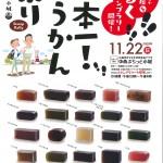 【イベント】11月22日開催 第5回日本一!ようかん祭り