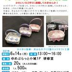 【まちの元気塾】エコクラフトカゴ作り 6月14日開催